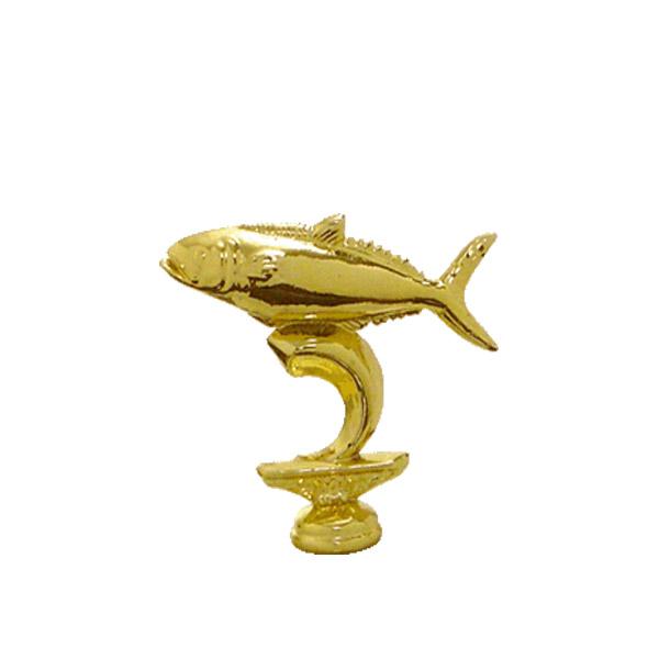 King Fish Gold Trophy Figure