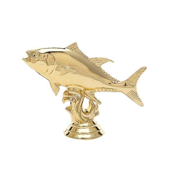 Tuna Fish Gold Trophy Figure