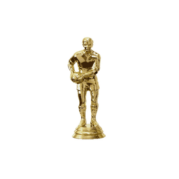 Football Gaelic Gold Trophy Figure