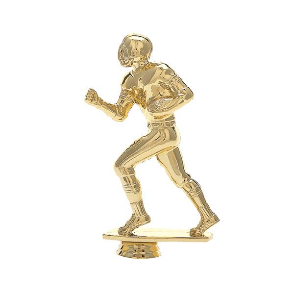 Football Runner Gold Trophy Figure