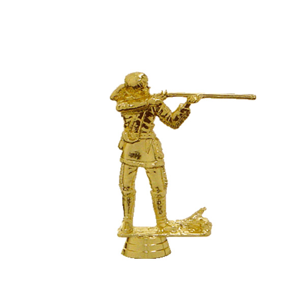 Frontiersman Gold Trophy Figure