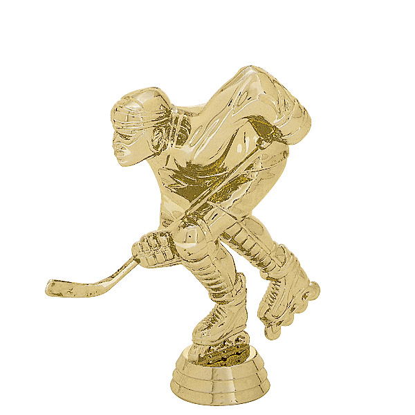 Roller Hockey Gold Trophy Figure