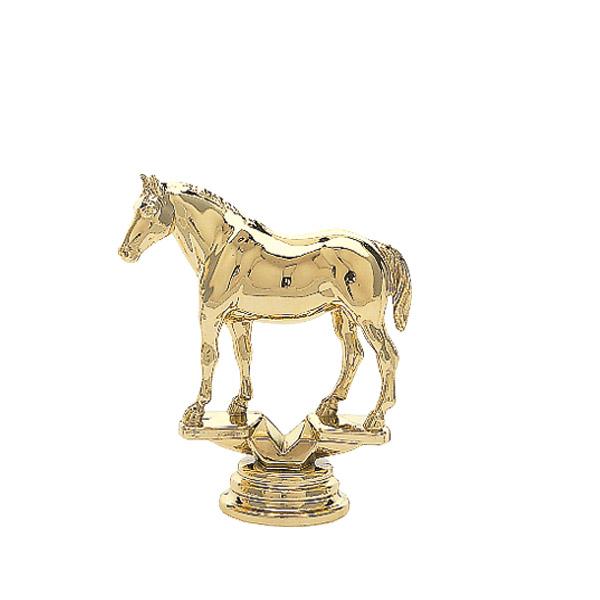 Quarter Horse w/out Saddle Gold Trophy Figure
