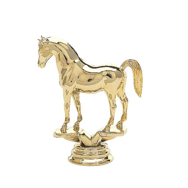 Arabian Horse Gold Trophy Figure