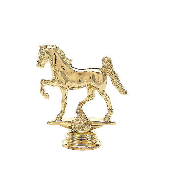 Gaited Horse Gold Trophy Figure