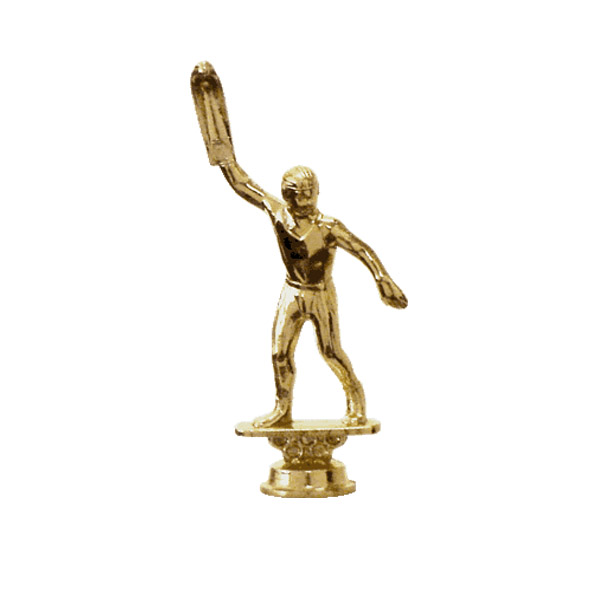 Jai Alai Gold Trophy Figure