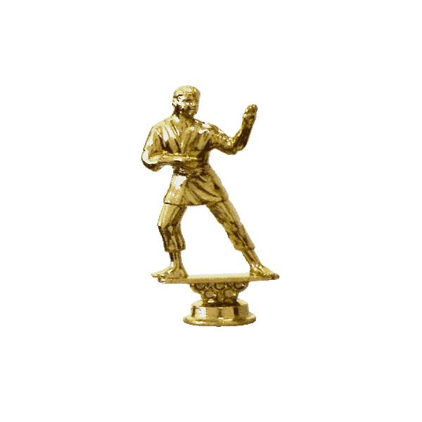 Karate Standing Male Gold Trophy Figure