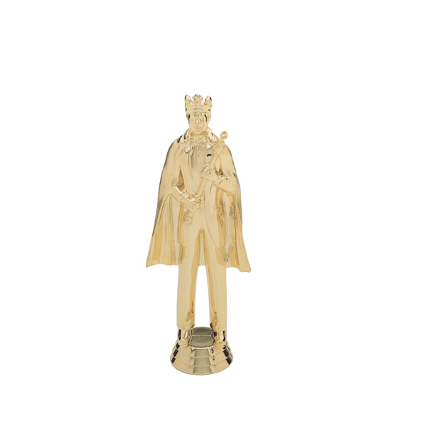 King Gold Trophy Figure