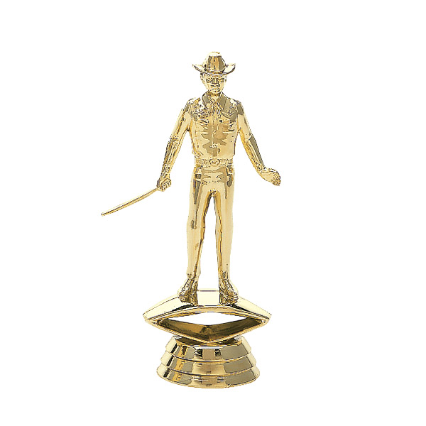 Showman Gold Trophy Figure
