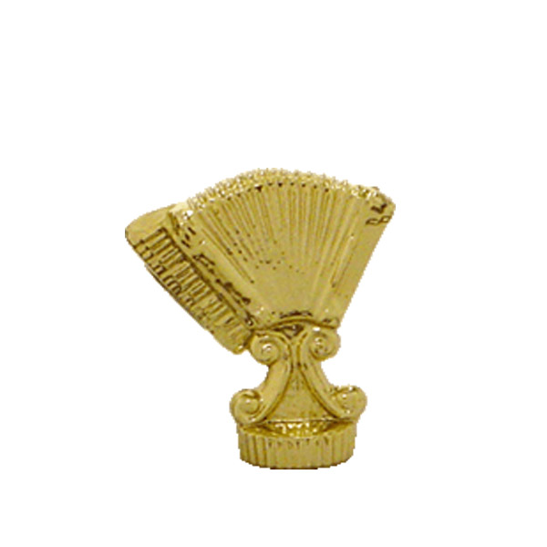 Accordion Gold Trophy Figure