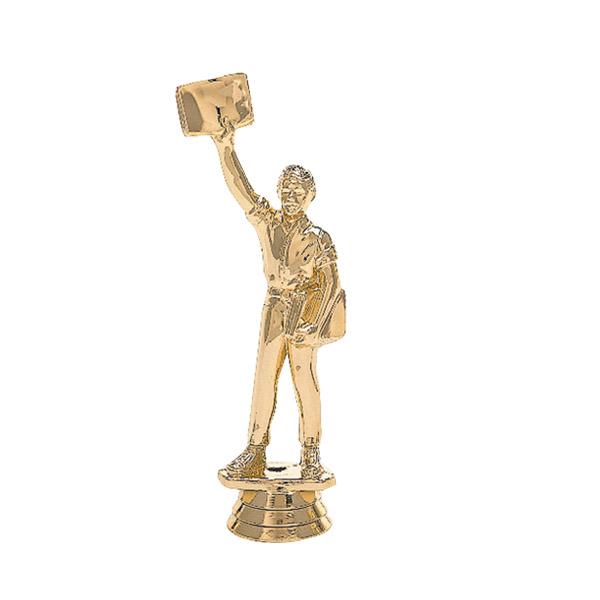 Newsboy Gold Trophy Figure