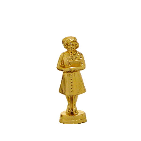 Nurse Gold Trophy Figure