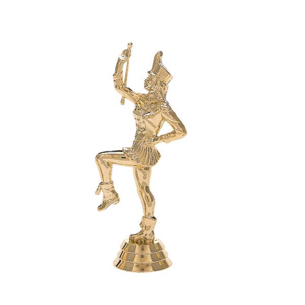 Drum Majorette Gold Trophy Figure