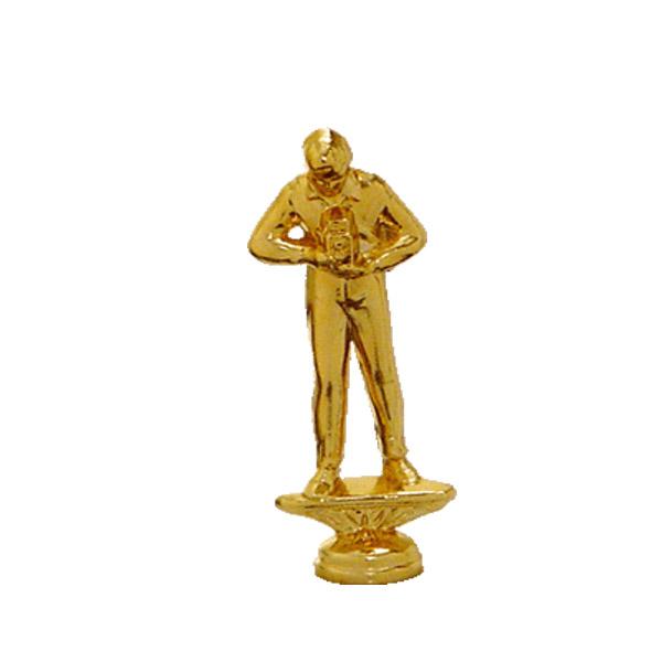 Reflex Camera Gold Trophy Figure