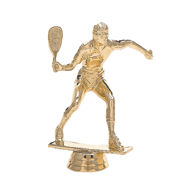 Racquetball Male Gold Trophy Figure