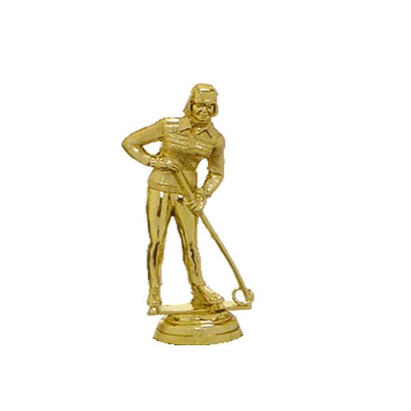 Ringette Gold Trophy Figure