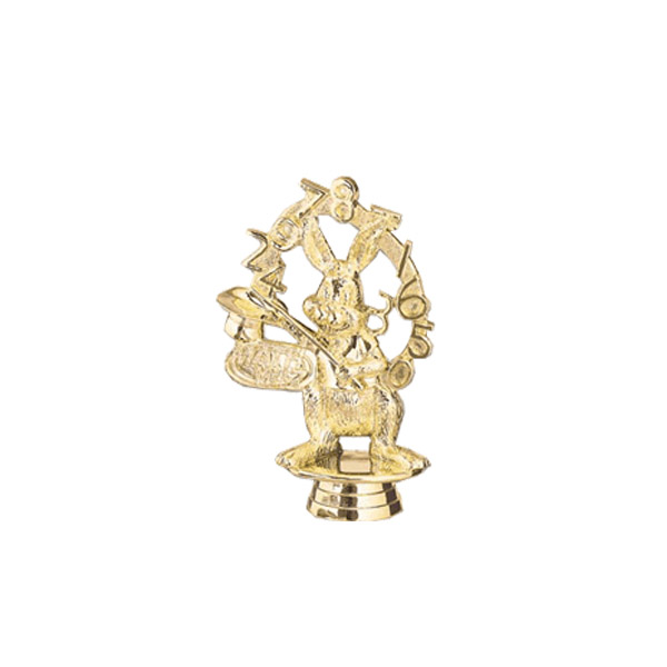 Math Whiz Gold Trophy Figure