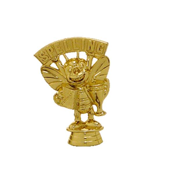 Spelling Bee Gold Trophy Figure