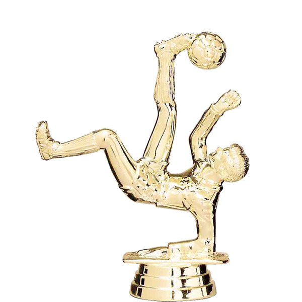 Soccer/Bicycle Male Gold Trophy Figure