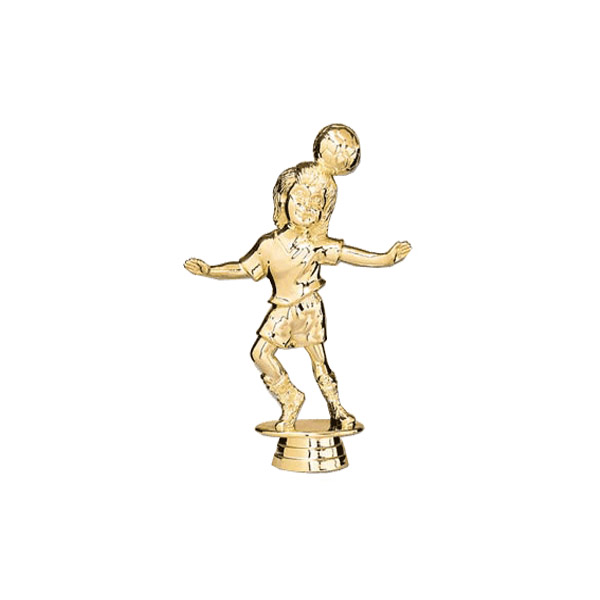 Soccer Tyke Female Gold Trophy Figure