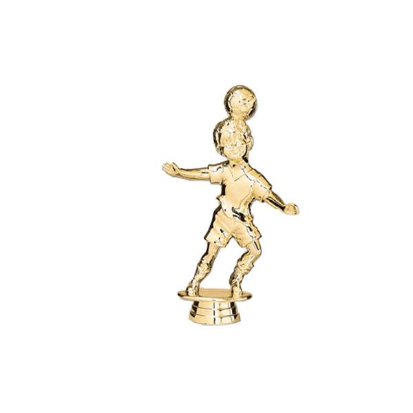 Soccer Tyke Male Gold Trophy Figure