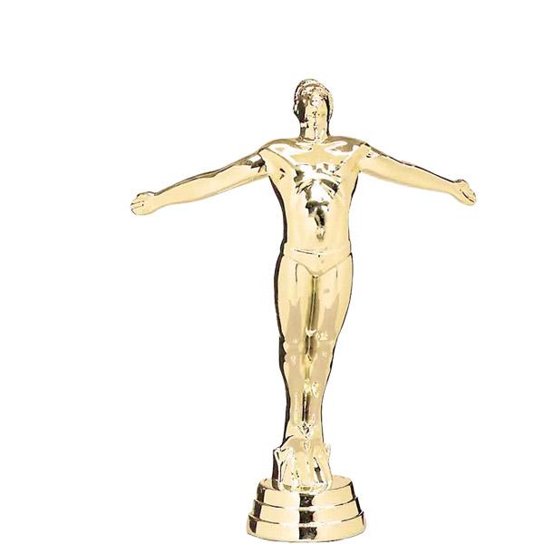 Swim Diver Male Gold Trophy Figure