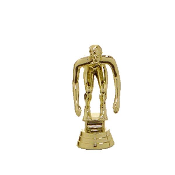 Swim Starter Male Gold Trophy Figure