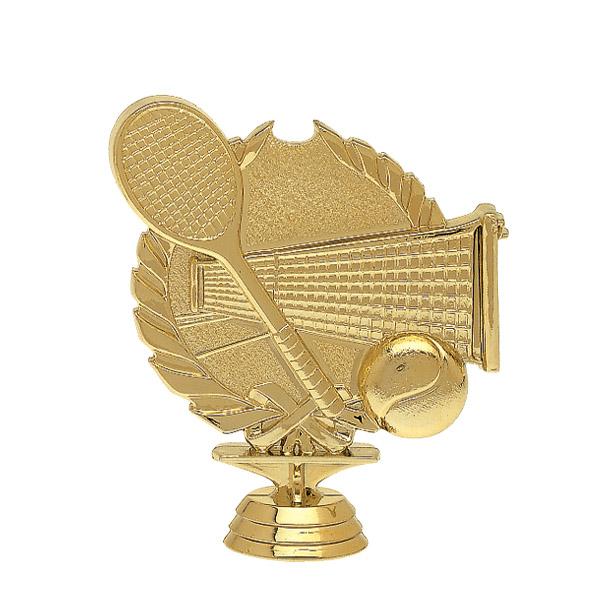 Tennis 3-D Gold Trophy Figure