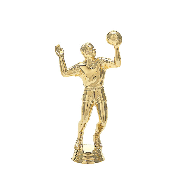 Volleyball Male Gold Trophy Figure