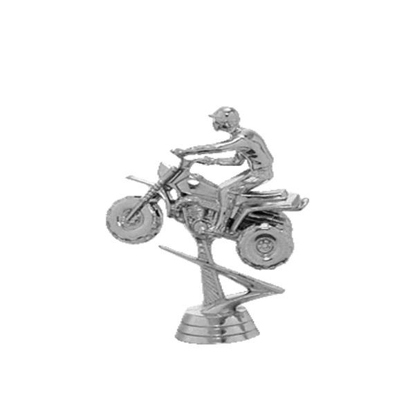 All Terrain 3 Wheel (Bike) Silver Trophy Figure