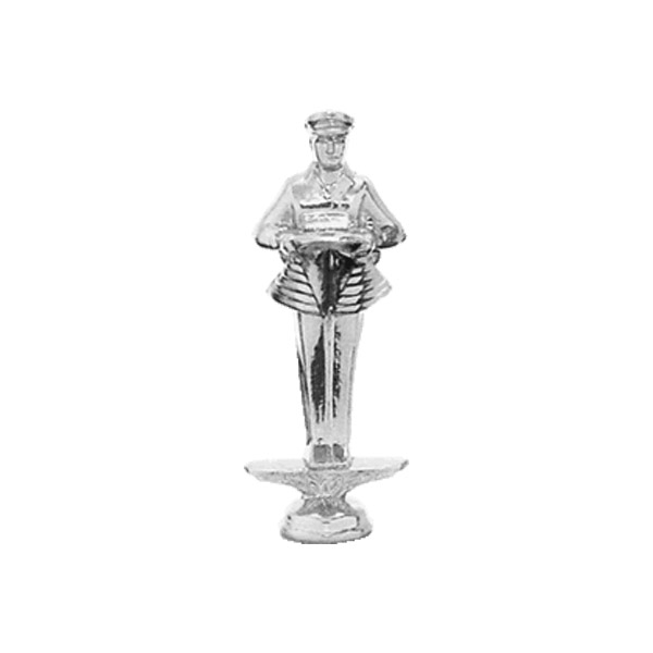 Safety Driver Silver Trophy Figure