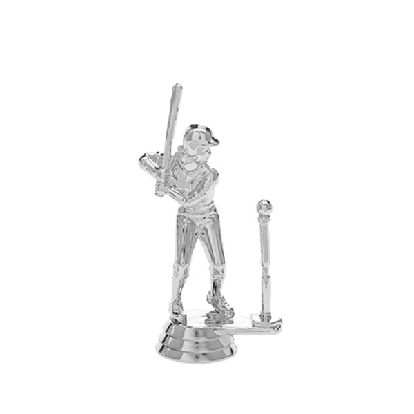 T-Ball Female Silver Trophy Figure