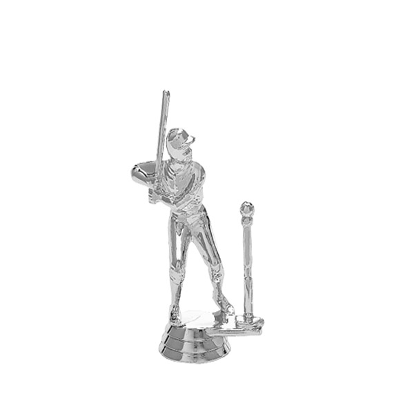 T-Ball Male Silver Trophy Figure