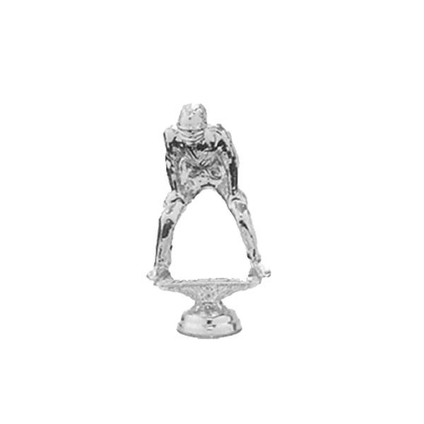 Umpire Silver Trophy Figure