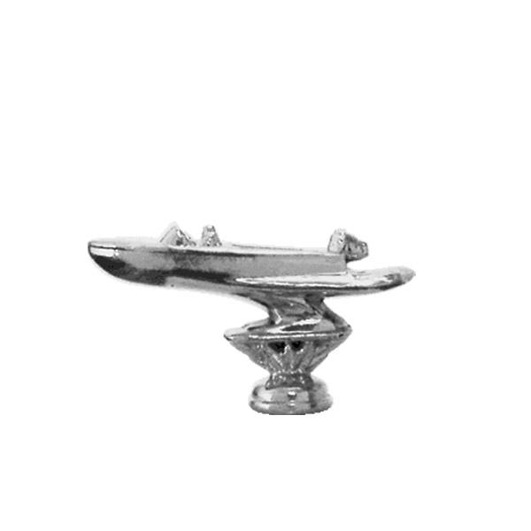 Utility Boat Silver Trophy Figure