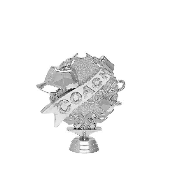 Coach 3-D Silver Trophy Figure