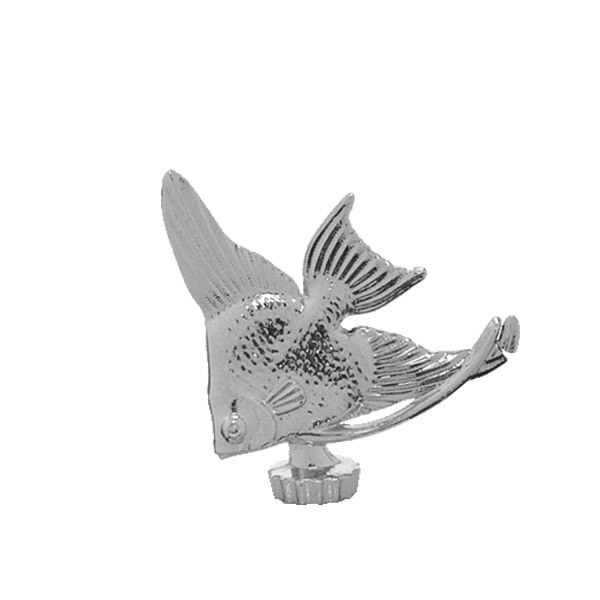 Angel Fish Silver Trophy Figure