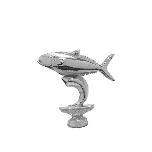 King Fish Silver Trophy Figure