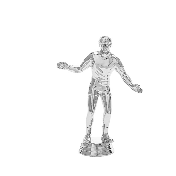 Handball Male Silver Trophy Figure