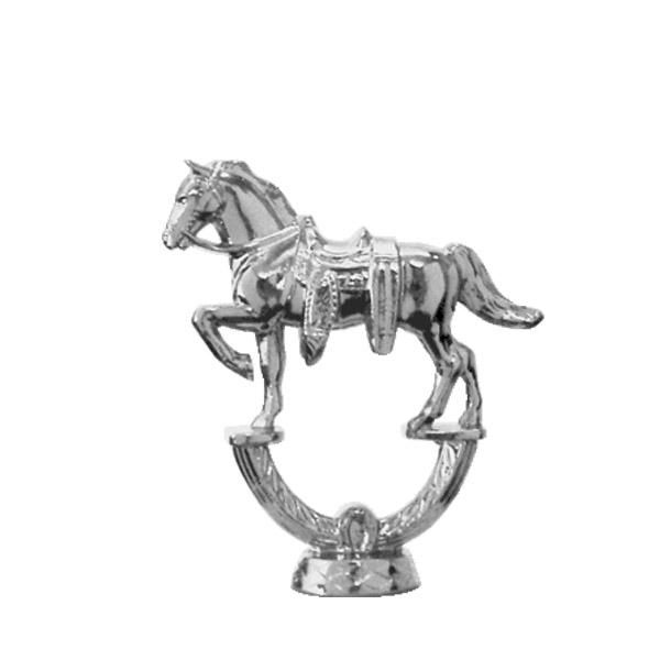 Parade Horse Silver Trophy Figure