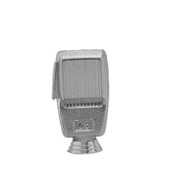 Microphone C.B. Silver Trophy Figure