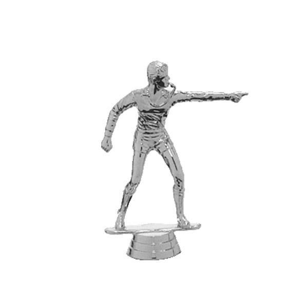 Referee Silver Trophy Figure