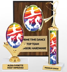 Dance Trophies and Awards