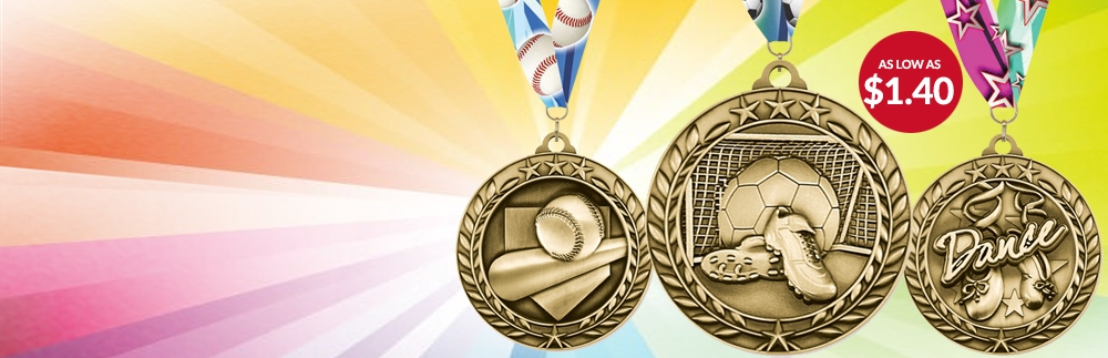 Gold Sport Medals