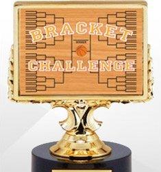 Basketball Bracket Challenge Trophies