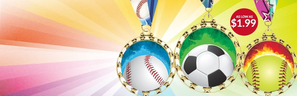 Sports Star Medals