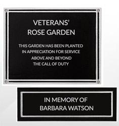 Outdoor Garden Plaques