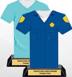 Frontline Hero Trophies