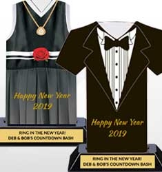 Happy New Year Trophies