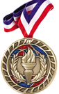 Glitter Medal